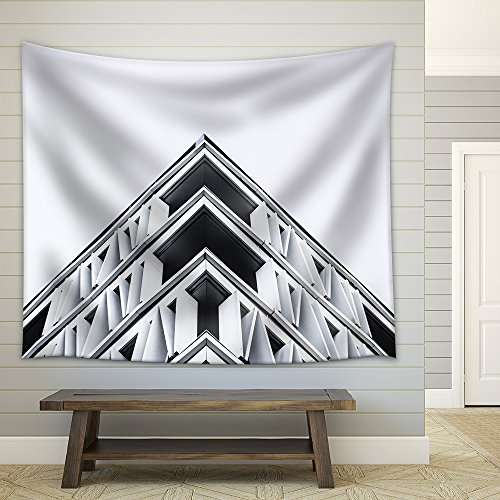 Facade View of Architecture Fabric Wall