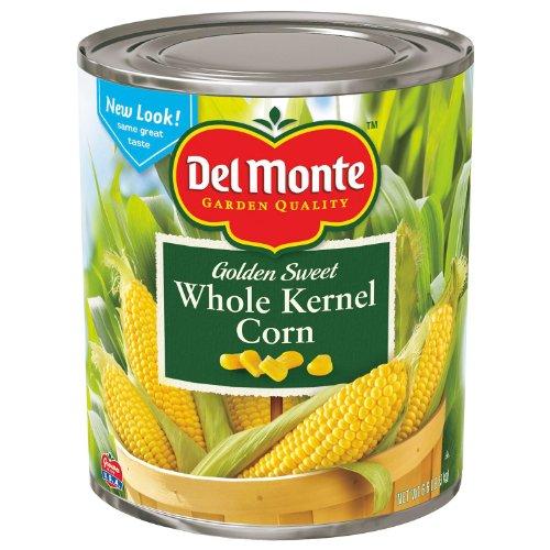 Del Monte Golden Sweet Whole Kernel Corn, 106 Ounce