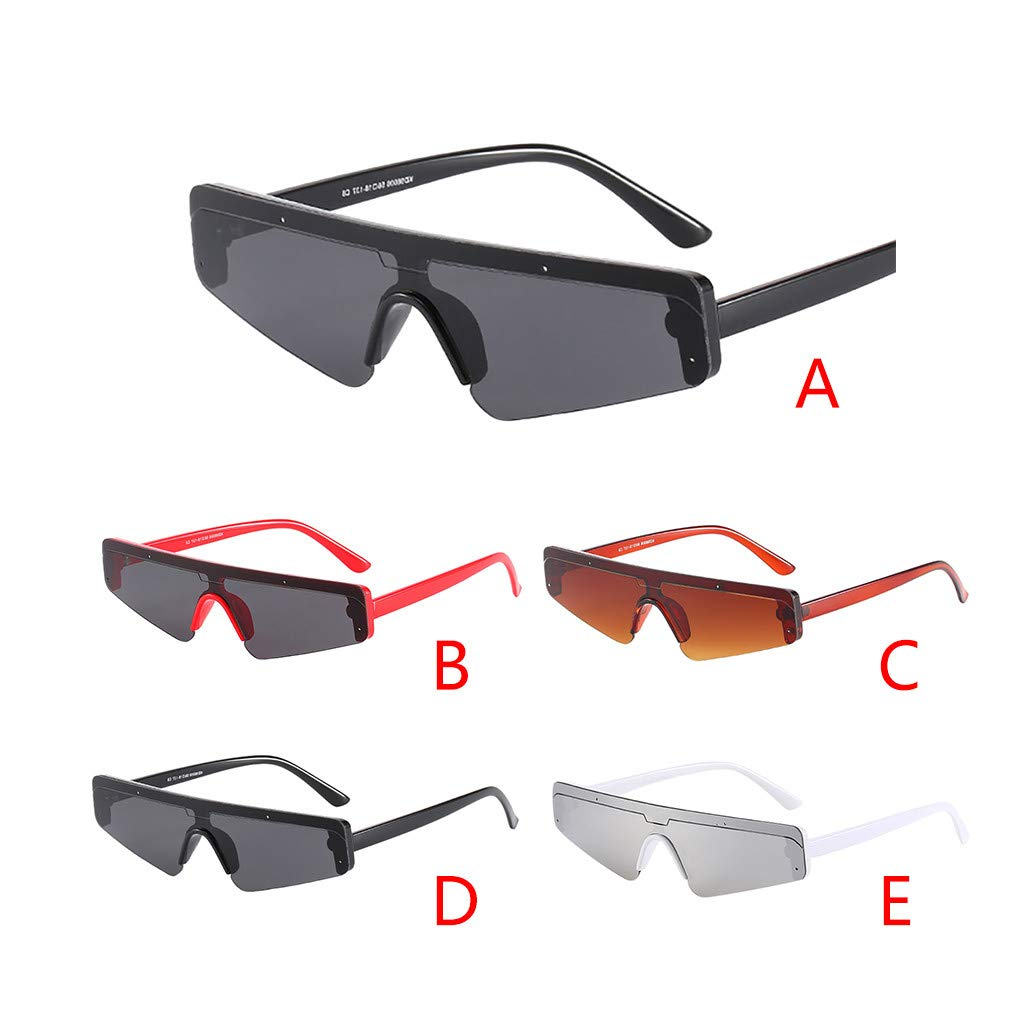 Gafas de Sol rectangulares para Hombre Cebbay Retro Moda ...