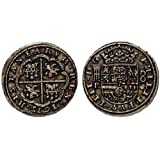 Replica Pieces Of Eight Spanish Armada Coin For Childrens Pirate Chest G72