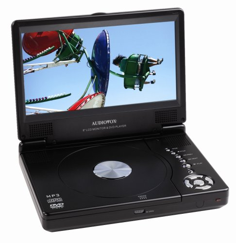 Audiovox D1888 8-Inch Slim Line Portable DVD Player ()