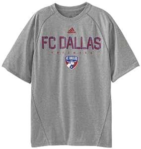 MLS FC Dallas Men's Training Graphic 2 Tee (Grey, Medium)