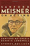 img - for Sanford Meisner on Acting book / textbook / text book