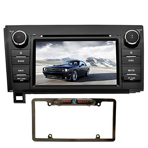 YINUO 2 Din 7 Inch Android 7.1 Car Stereo Touchscreen DVD Player In Dash Head Unit GPS Navigation Steering Wheel Control/Bluetooth Hands Free Call/BT Music/SWC/3G Wifi for Toyota Tundra/Sequoia