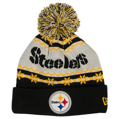 Pittsburgh Steelers NFL New Era Ugly Sweater Knit Hat