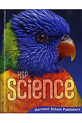 Harcourt Science: Student Edition Grade 2 2009
