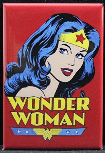 Wonder Woman Refrigerator Magnet.