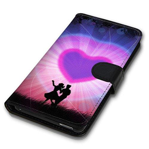 Wallet Book Style Flip Handy Tasche Case Schutz Hülle Schale Motiv Etui für Apple iPhone 5 / 5S - Design Flip MV141