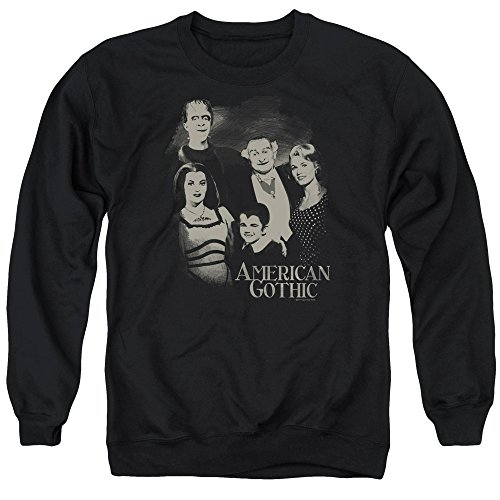 The Munsters - American Gothic Adult Crewneck Sweatshirt