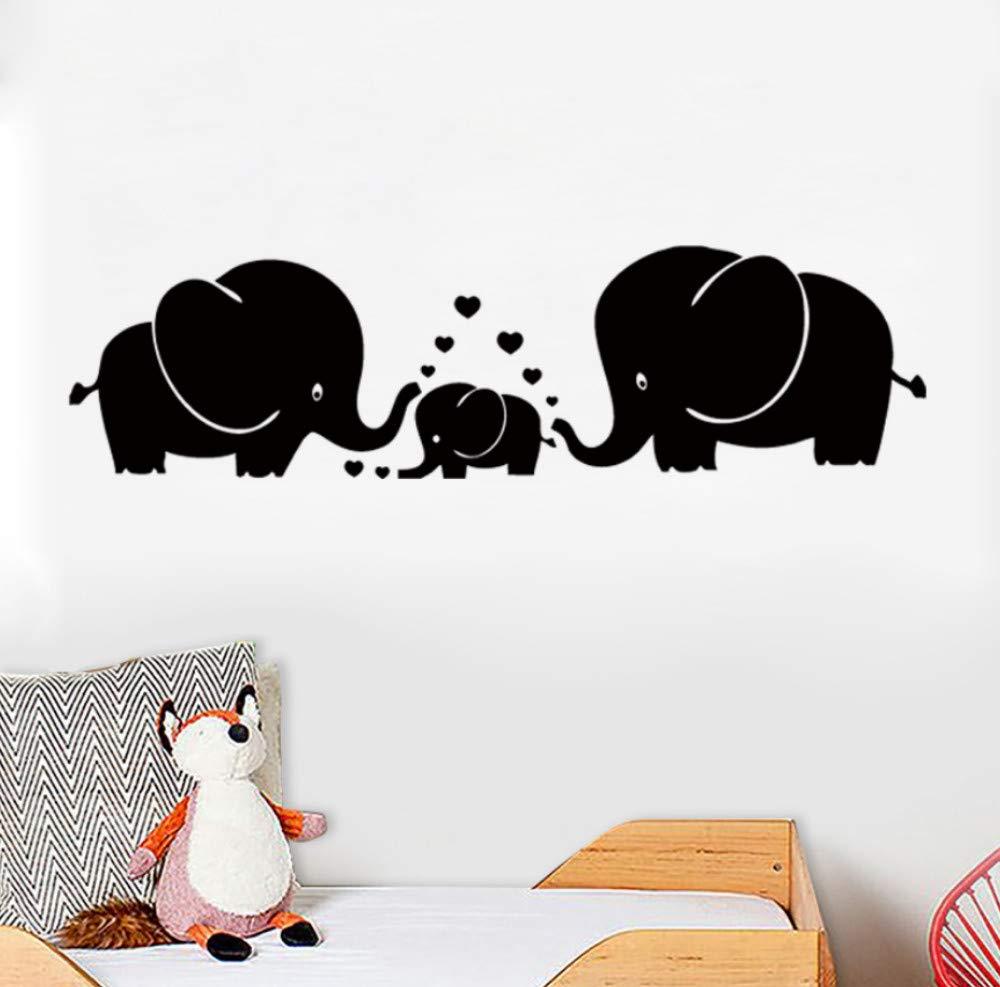 Qliyt Tres Lindos Elefantes Padres E Hijos Familia Con Corazón ...