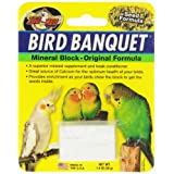 Zoo Med Mineral Block Original Formula Banquet Bird Food, 1 oz