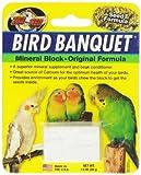 Zoo Med Mineral Block Original Formula Banquet Bird Food, 1 oz