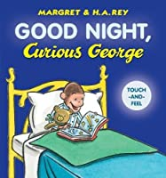 Good Night, Curious George padded board book
