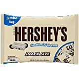 HERSHEY'S Cookies 'n' Crème Candy Bar (Snack Size, 17.1-Ounce Bags, Pack of 3)