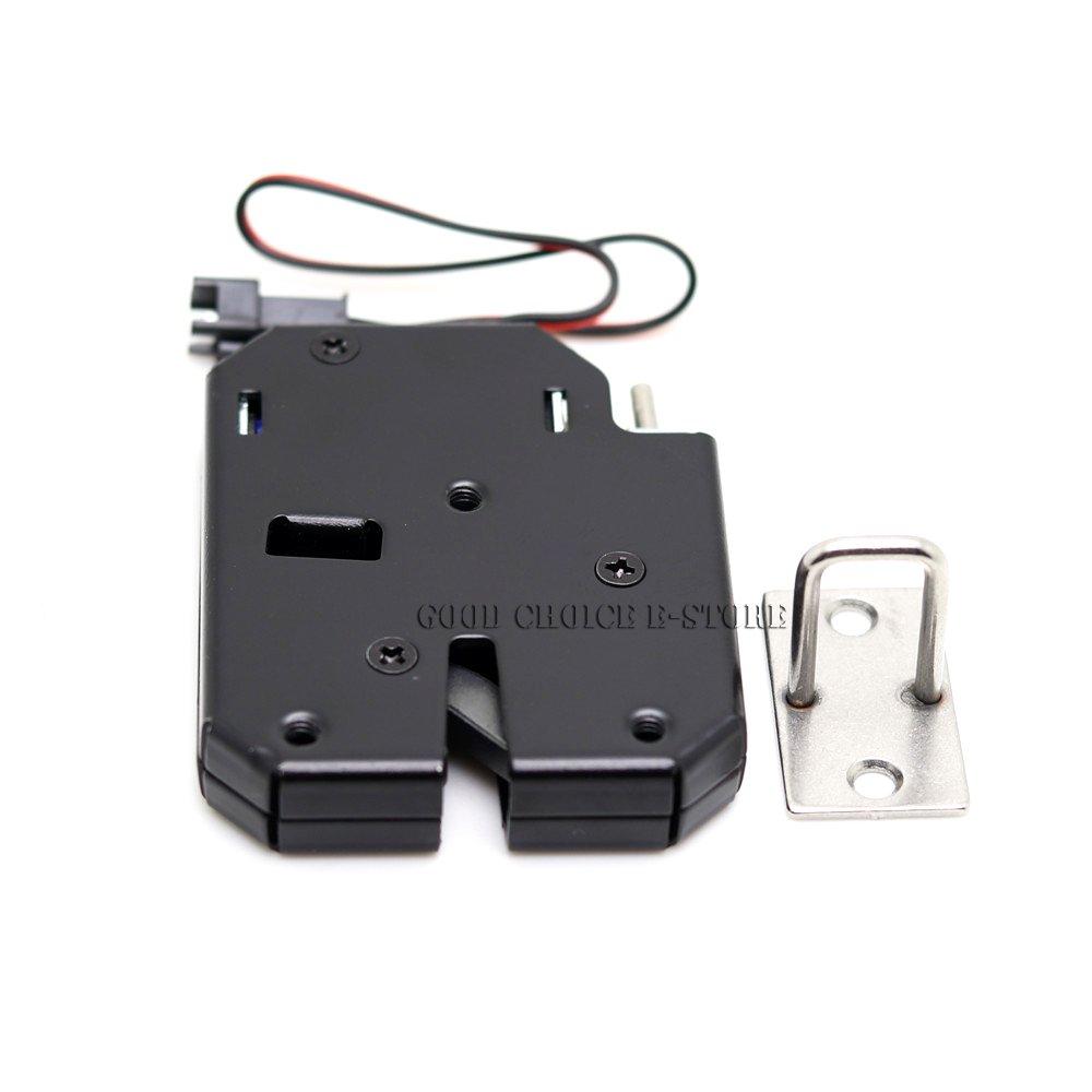 Paquet de 5 6V Solenoid fermant /à clef la serrure /électrique de porte pour la serrure de porte de tiroir de Cabinet Verrou magn/étique /électrique de DC 5V