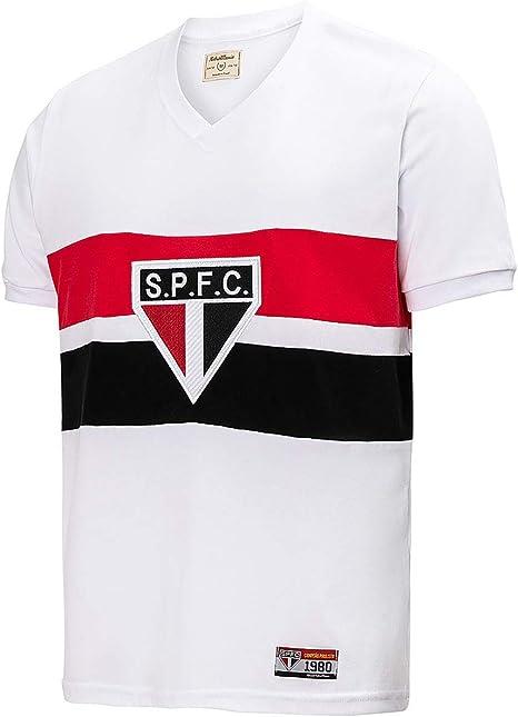 Camisa São Paulo Retrô 1980 Masculina