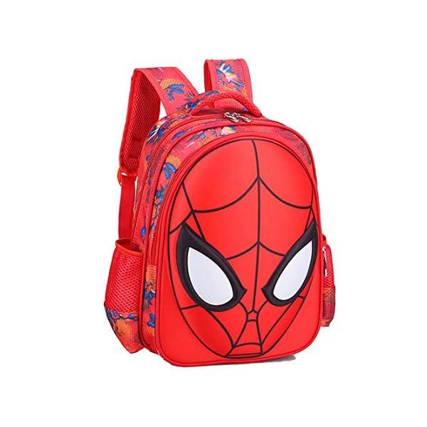 MODRYER I Bambini Zaino dei Ragazzi Spiderman Bag Kid Impermeabile Zaino elementare Studenti Daypack Kindergarten… 1 spesavip