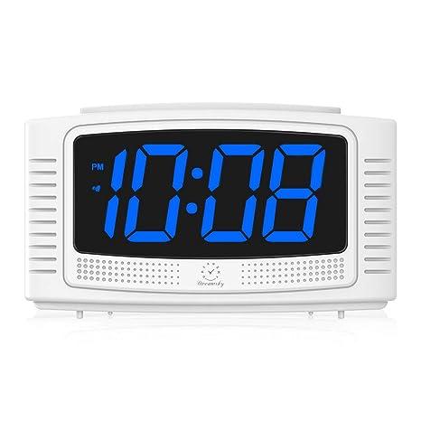 Amazon.com: DreamSky Reloj despertador digital pequeño con ...