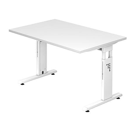 Dr de oficina escritorio 120 x 80 cm – Altura regulable: 65 – 85 ...
