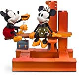 Disney Nostalgia ''Building a Building'' Mickey Mouse Limited Edition Sculture/Figurine With Certificate of Authentication