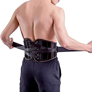 King of Kings Lower Back Brace Pain Relief with Pulley System - Lumbar Support Belt for Women and Men - Adjustable Waist Straps for Sciatica, Spinal Stenosis, Scoliosis or Herniated Disc
