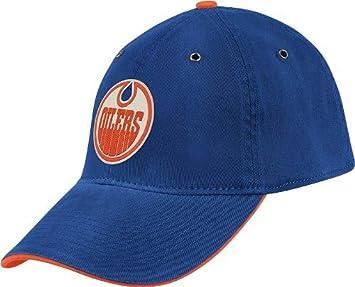 Edmonton Oilers CCM Throwback Vintage Slouch Flex Hat 74e4fc34e942