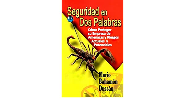 Amazon.com: SEGURIDAD EN DOS PALABRAS (Spanish Edition) eBook: Mario Bahamon Dussan: Kindle Store