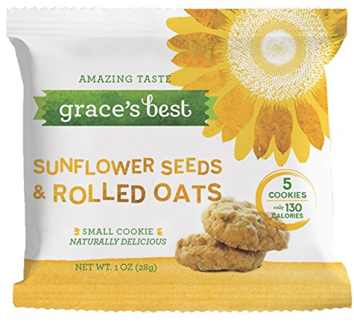 Price comparison product image Grace's Best Sunflower Seed and Rolled Oats Cookies (Set of 24,  1-oz bags)