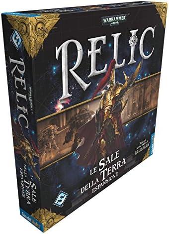 Giochi Uniti GU471 - Juego de Relic: La Sal de la Tierra: Amazon.es: Juguetes y juegos