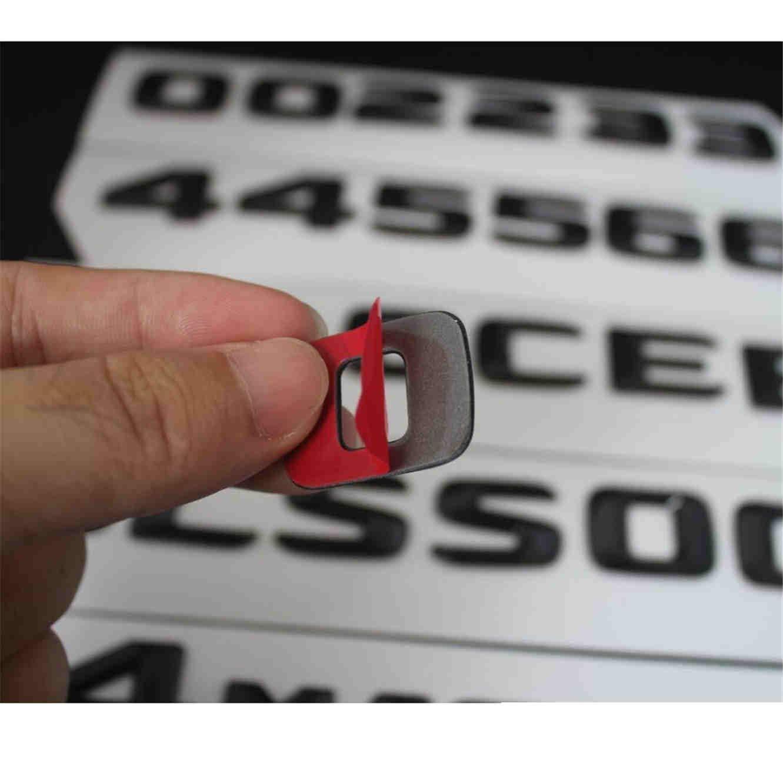 Black Trunk Letters Emblem C200 C220 C230 C240 C300 C250 C320 C350 C400 C32 C43 C63 AMG 4MATIC
