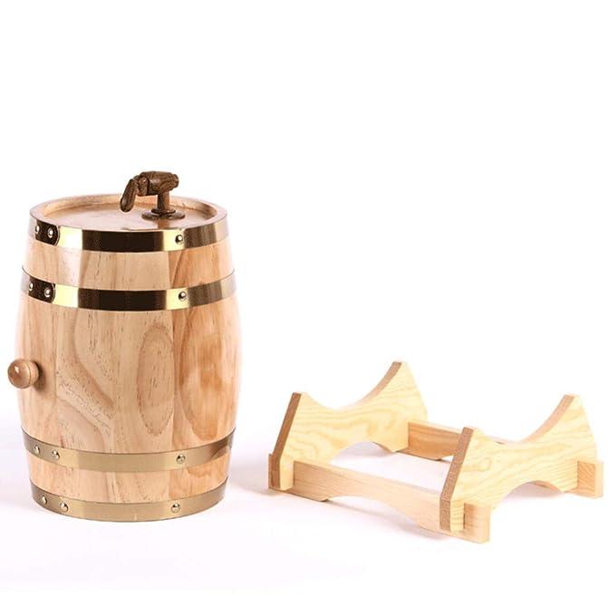 Amazon.com: WHISKY 15 Liters Oak Storing Barrel Built-in Aluminum Foil Liner for Storing Your own Whiskey, Beer, Wine, Bourbon, Brandy, Hot Sauce & More ...