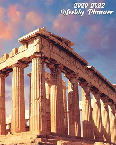 2020-2022 Weekly Planner: 3 Year Organizer with Weekly Views | Agenda & Calendar with Inspirational Quotes, To Do's, Vision Boards & Notes | Fantastic ... Parthenon Temple & Acropolis, Athens, Greece