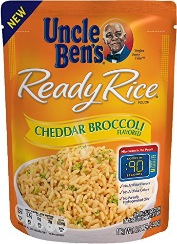 Uncle Ben's Ready Rice: Cheddar Broccoli (12pk)
