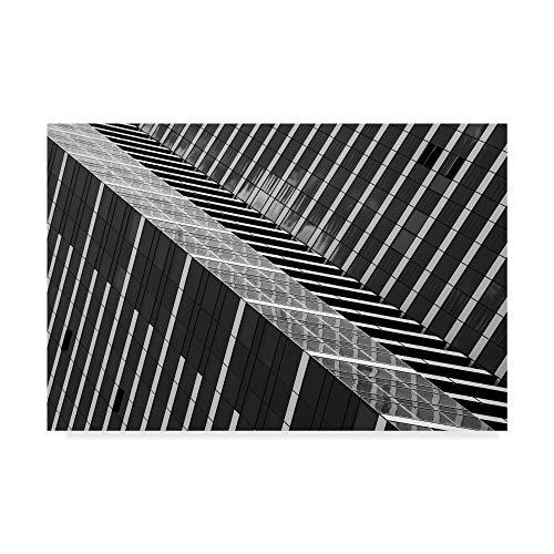 Trademark Fine Art Dizzy Architecture by Jacqueline Hammer, 12x19-Inch, ()