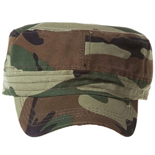 QML CADET Cotton adjustable Twill Cap ( 2 STYLES, 35 COLORS ) (1 TYPE, CAMOUFLAGE)