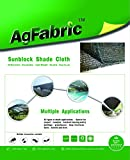 Agfabric 50% Sunblock Shade Cloth Cover with Clips