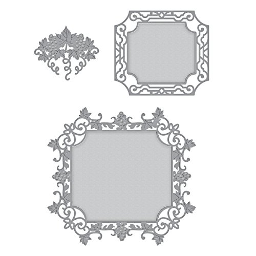 Accents Wrought Iron Single - Spellbinders Shapeabilities Labels 59 Decorative Accents Etched/Wafer Thin Dies