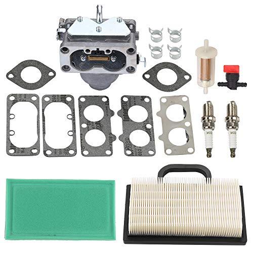 - Harbot 791230 Carburetor for Briggs and Stratton 699709 499804 John Deere MIA10632 LA120 LA130 LA135 LA140 LA145 LA150 L111 L118 L120 Lawn Mower Tractor with 499486S 499486 273638S Air Filter