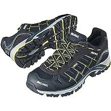 Meindl mens outdoor shoe lemon/black