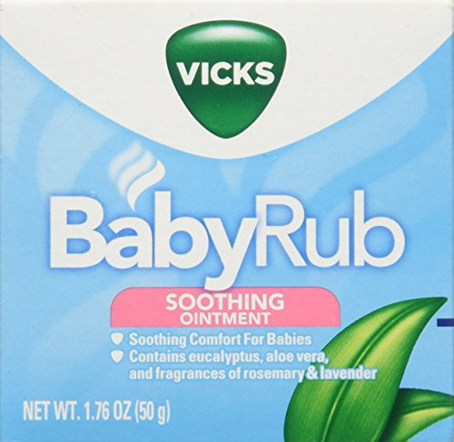 Vicks Baby Rub (Vicks Baby Rub Soothing Ointment, 1.76 Ounce, 3 Count)