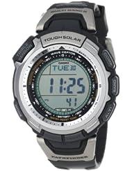 卡西欧Casio Men's 探路者系列5局电波三重感应太阳能登山表 $164.99
