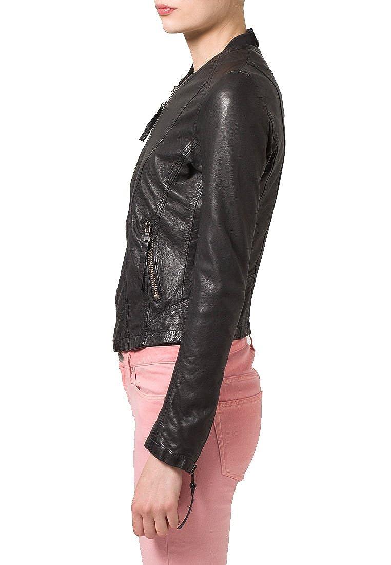 Kingdom Leather Brand New Genuine Soft Lambskin Leather Jacket For Womens Designer Wear XW064