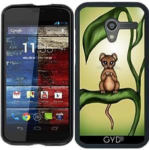 Funda para Motorola Moto X (Generation 1) - Ratón En La Planta by Pezi Creation