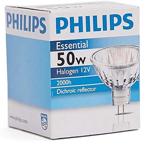 Philips Essential Halogen Spot Light 50W GU5.3 Warm white