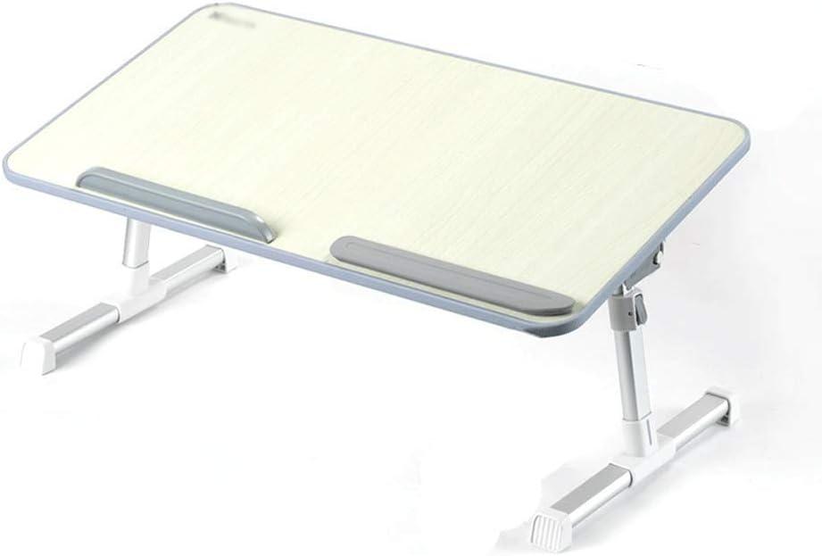 LI MING SHOP 折りたたみ式テーブルラップトップテーブル怠惰な折りたたみ式持ち上げ調整ブラケットテーブル小さな寝室のテーブルベッドのための小さな机寮の学生用ベッドの机家庭用筆記用高さテーブル