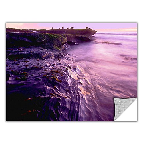 ArtWall Artapeelz Dean Uhlinger 'La Jolla Impression' Removable Graphic Wall Art, 36 by - Stores La Jolla