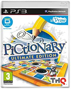 Pictionary: Ultimate Edition - uDraw (PS3) [Importación inglesa]