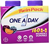 ONE A DAY Women's Gummies, Twin Pack, 160 Count