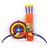 Bow and Arrow for Kids Toy Archery Bow Arrow Set with Arrows, Target, and Quiver for Children