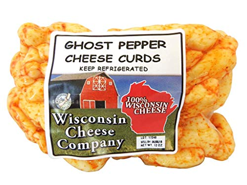 Wisconsin Cheese Company Famous Ghost Pepper Cheese Curds 1.5lbs (2ct-12oz. packs)